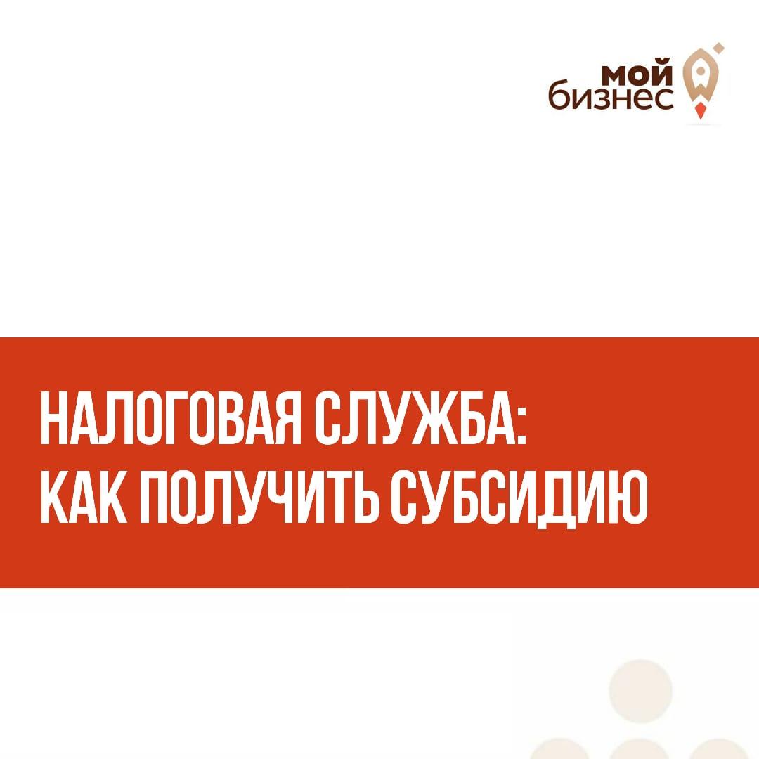 ФНС России запустила специальный сервис для выплаты субсидий МСП.